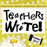 Teachers Write 2014 Button